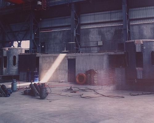 10吨中频炉2台